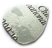 guitar pick made of credit card