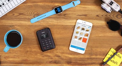 iZettle Pro Contactless woth Apple Watch and iPhone