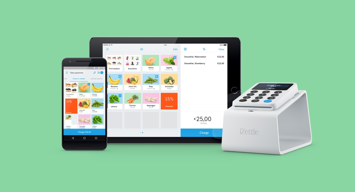 iZettle lowers UK rate, bids farewell to sliding scale