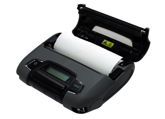 receipt printer SM-T400 paper load