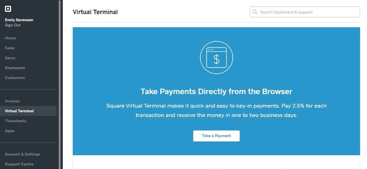 Square Virtual Terminal Review Made For Simple Phone Payments - Send invoice using square