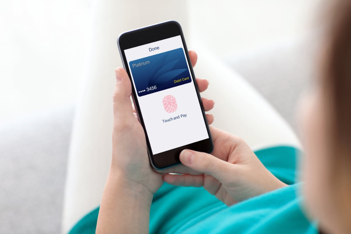 Apple Pay online payment using fingerprint technology