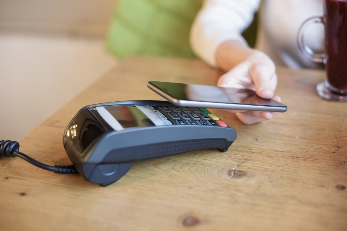 NFC phone payment using fingerprint technology