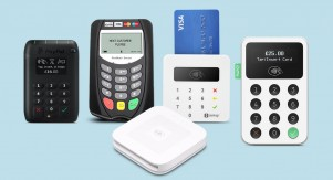 SumUp Air, PayPal Here, Square Reader, iZettle Reader 2 and MobileMerchant card readers