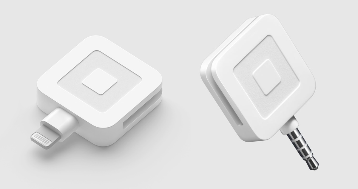 Square magstripe reader Lightning and headphone jacks
